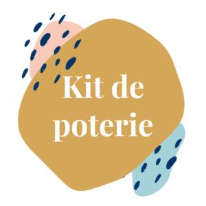 Kit de poterie